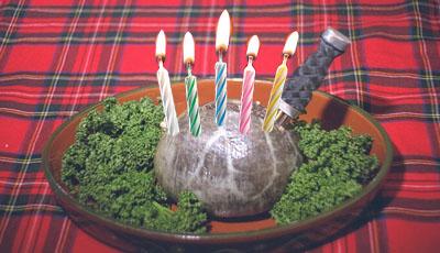 Birthday Haggis