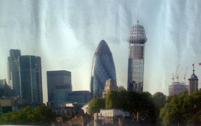 The Shoreditch Colossus skyline