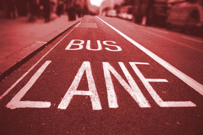 In the Bus Lane